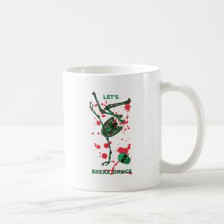 Wellcoda Skull Skeleton Bone Break Dance Coffee Mug