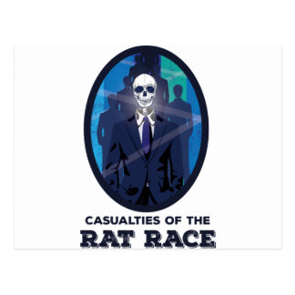 Wellcoda Skull Suit Up Career Dead Soul Postcard