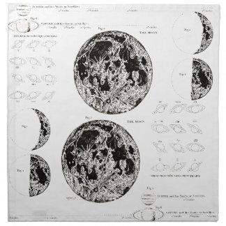 Wellcoda Solar System Planet Astro Physics Cloth Napkin