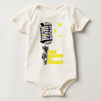Wellcoda Sound Of Music Sing Microphone Baby Creeper