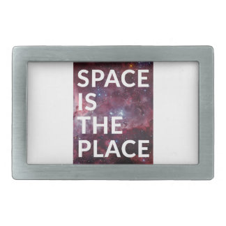 Wellcoda Space Is The Place Fun Big Planet Belt Buckle
