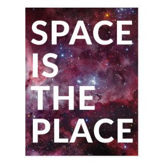 Wellcoda Space Is The Place Fun Big Planet Postcard