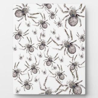 Wellcoda Spider Spooky Fear Tarantula Plaque