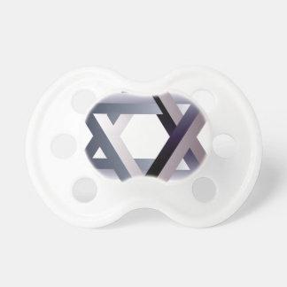 Wellcoda Star Of David Symbol Judaism Sign Pacifier