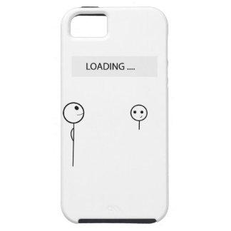 Wellcoda Stick Man Fun Loading Friendship iPhone SE/5/5s Case
