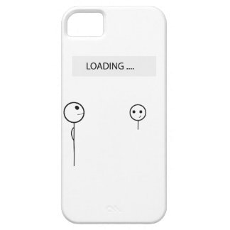 Wellcoda Stick Man Fun Loading Friendship iPhone SE/5/5s Case