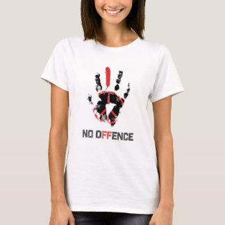 Wellcoda Stop War No Offence World Peace T-Shirt