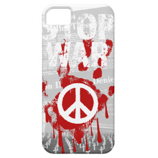 Wellcoda Stop War World Peace Soldier RAF iPhone SE/5/5s Case