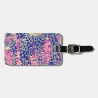 Wellcoda Summer Fields Forever Wild Bloom Luggage Tag
