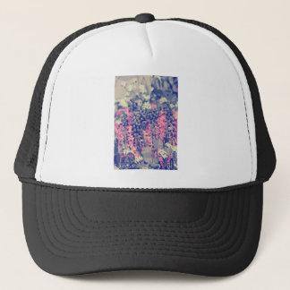 Wellcoda Summer Fields Forever Wild Bloom Trucker Hat