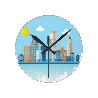 Wellcoda Sun City View Town Sydney Coast Round Clock
