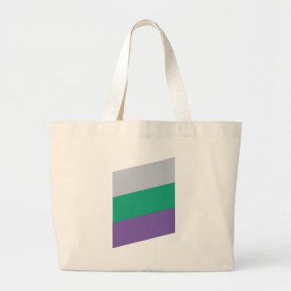 Wellcoda Three Tier Colours Holiday Fun Large Tote Bag