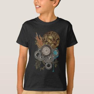 Wellcoda Time Travel Machine Illusion T-Shirt