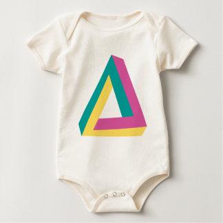 Wellcoda Triangle Drive Shape Summer Fun Baby Bodysuit