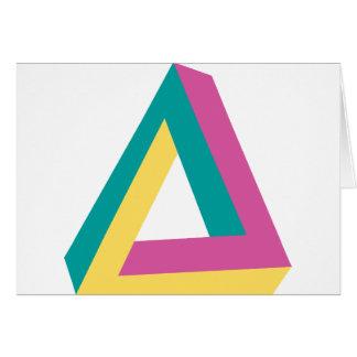 Wellcoda Triangle Drive Shape Summer Fun Card