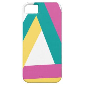 Wellcoda Triangle Drive Shape Summer Fun iPhone SE/5/5s Case