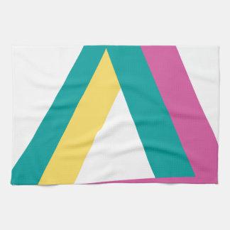 Wellcoda Triangle Drive Shape Summer Fun Kitchen Towel