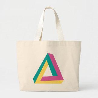 Wellcoda Triangle Drive Shape Summer Fun Large Tote Bag