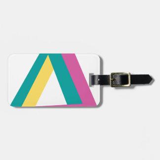 Wellcoda Triangle Drive Shape Summer Fun Luggage Tag