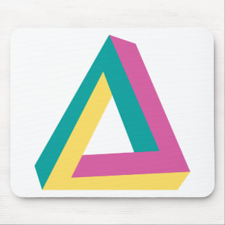 Wellcoda Triangle Drive Shape Summer Fun Mouse Pad