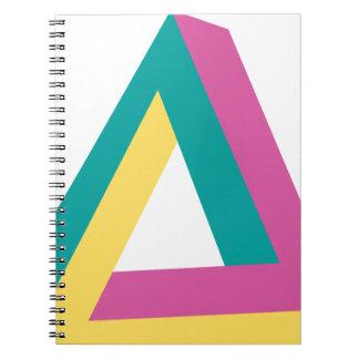 Wellcoda Triangle Drive Shape Summer Fun Spiral Notebook
