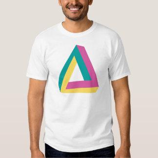 Wellcoda Triangle Drive Shape Summer Fun Tee Shirt
