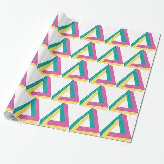 Wellcoda Triangle Drive Shape Summer Fun Wrapping Paper