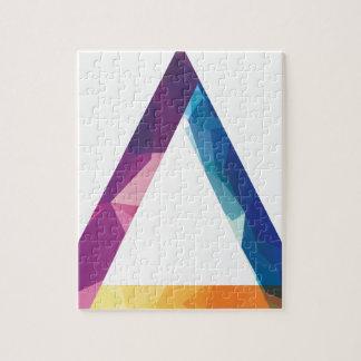 Wellcoda Triangle Summer Vibe Crazy Shape Jigsaw Puzzle