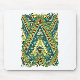 Wellcoda Tribal Style Pattern Crazy Vibe Mouse Pad