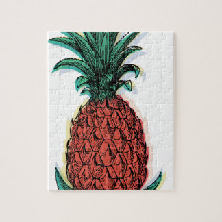 Wellcoda Tropical Pineapple Fruit Juice Jigsaw Puzzle