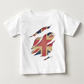 Wellcoda United Kingdom Flag Uk Identity Tee Shirt