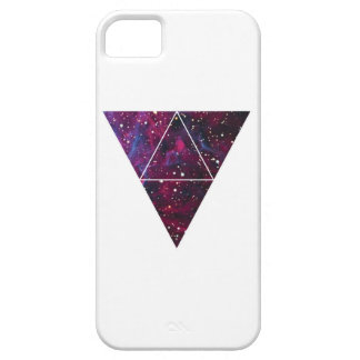 Wellcoda Universe Of Triangles Space Life iPhone SE/5/5s Case