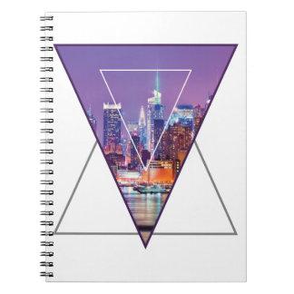 Wellcoda Urban City Soul Life Sky Line Love Notebook