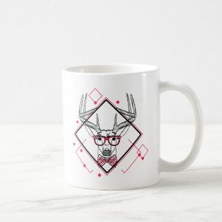 Wellcoda Urban Reindeer Swag Hipster Stag Coffee Mug