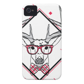 Wellcoda Urban Reindeer Swag Hipster Stag iPhone 4 Case-Mate Case