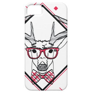 Wellcoda Urban Reindeer Swag Hipster Stag iPhone SE/5/5s Case