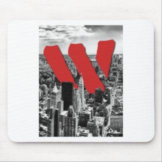 Wellcoda Vintage Apparel NYC New York Fun Mouse Pad