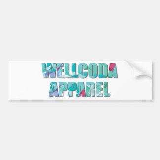 Wellcoda Vintage Apparel Vibe Dream Land Bumper Sticker