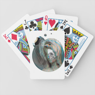 Wellcoda Virgin Mary Sculpture Holy Head Bicycle Playing Cards