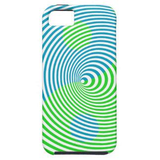 Wellcoda Visual Confusion Cool Yin Yang iPhone SE/5/5s Case