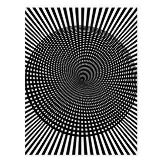 Wellcoda Visual Hallucination False Image Postcard