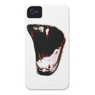 Wellcoda Wild Animal Teeth Predator Mouth iPhone 4 Cover