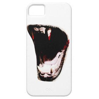Wellcoda Wild Animal Teeth Predator Mouth iPhone SE/5/5s Case