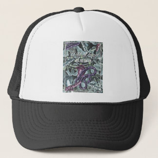 Wellcoda Wild At Heart Snakes Cobra Venom Trucker Hat