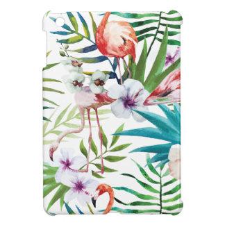 Wellcoda Wild Flamingo Life Paradise Bird iPad Mini Cover