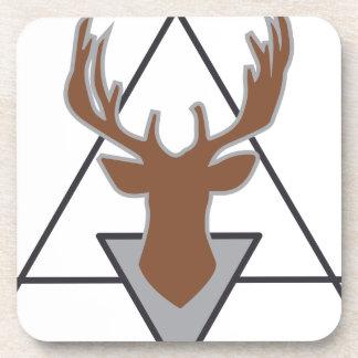 Wellcoda Wild Stag Deer Animal Hunt Month Beverage Coaster