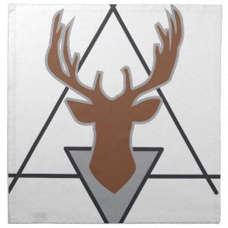Wellcoda Wild Stag Deer Animal Hunt Month Napkin