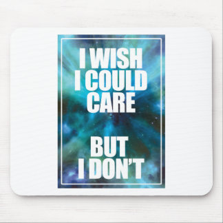 Wellcoda Wish Careless Care Outer Space Mouse Pad