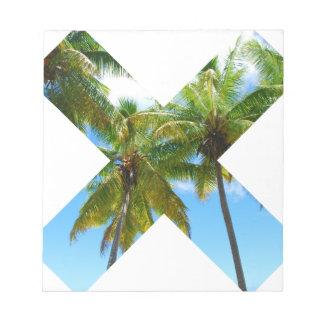 Wellcoda X Cross Paradise Vote Holiday Fun Notepad
