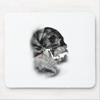Wellcoda XRay Skull Head Scan Human Face Mouse Pad